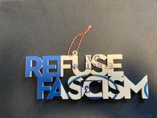 Image of Refuse Fascism Cutout