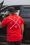 Red OG Cross T