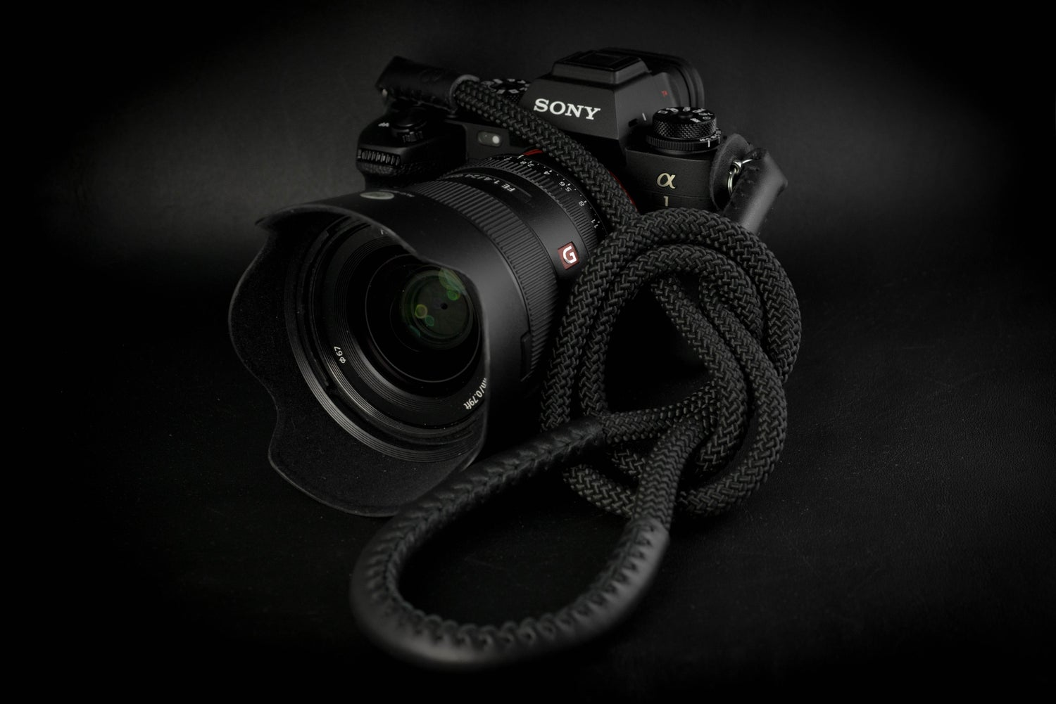 Image of Lite camera strap / Black