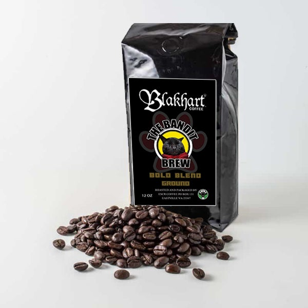 "Image of ""THE BANDIT BREW"" BOLD BLEND GROUND 12 OZ."
