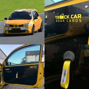 Image of Renault Megane Mk2 Track Car Door Cards - All Options