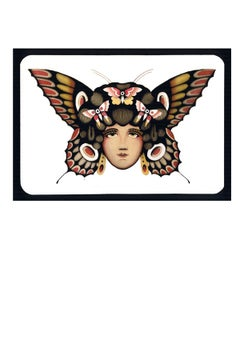 Lady Butterfly print - proyecto eclipse