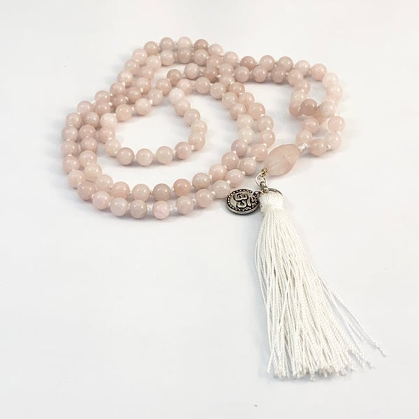 Image of Anahata Rose Quartz Mala