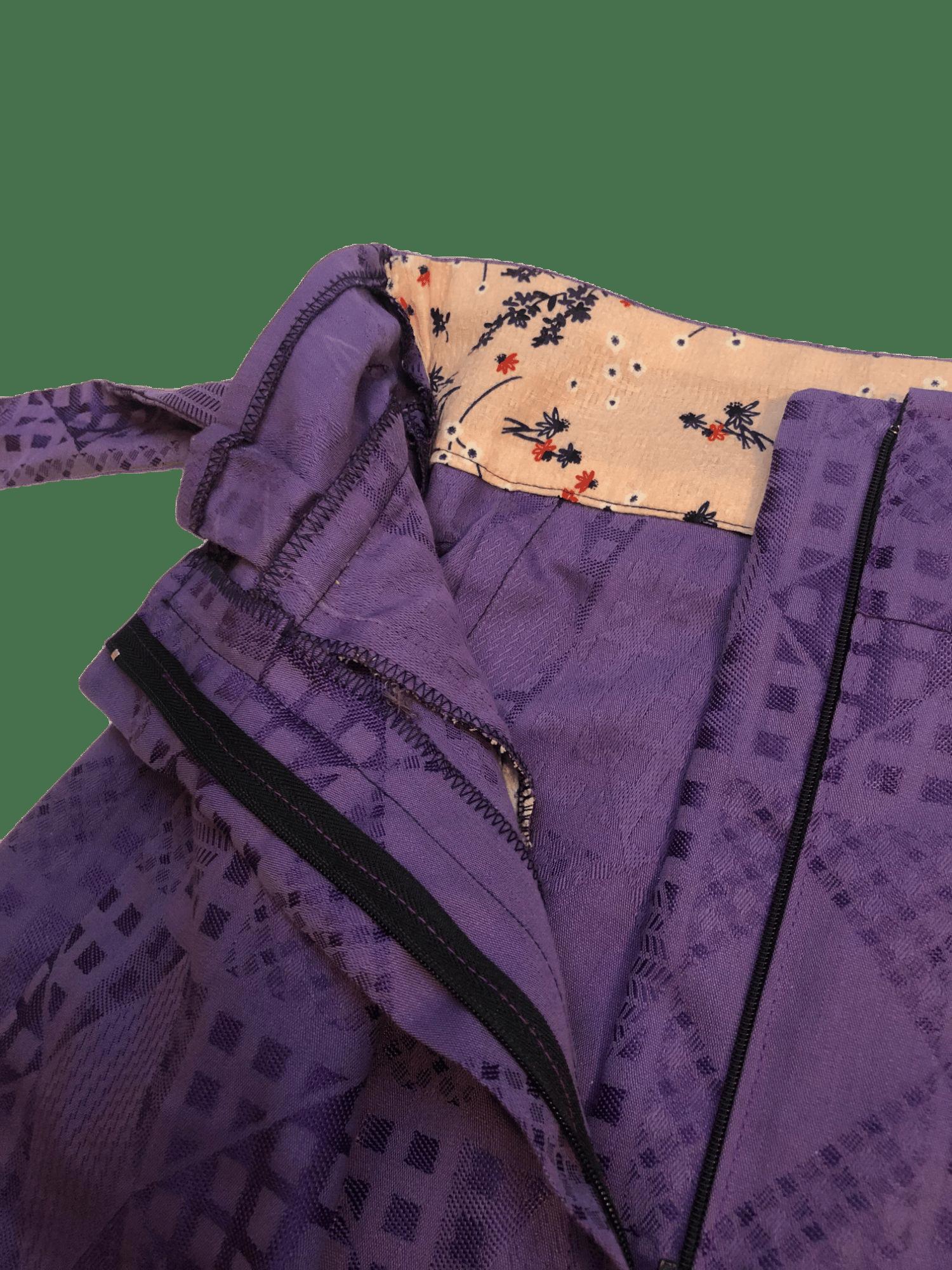 Image of Short Louisa violet
