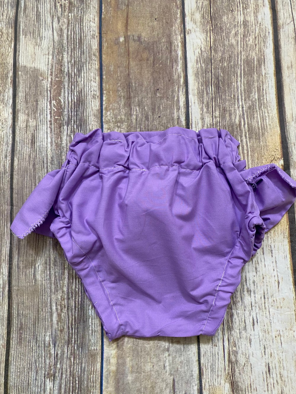 Image of Lilac Purple Ruffled Bloomers