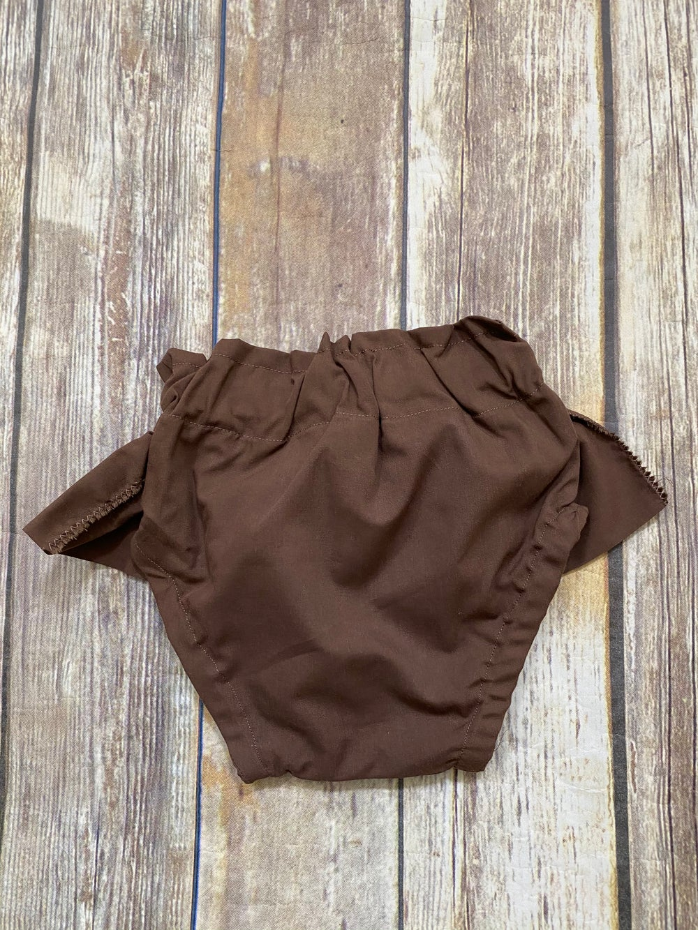Image of Brown Ruffled Bloomers