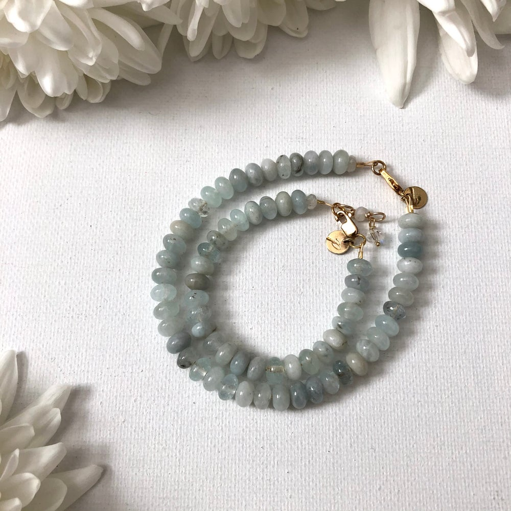 Image of Aquamarine Bracelets