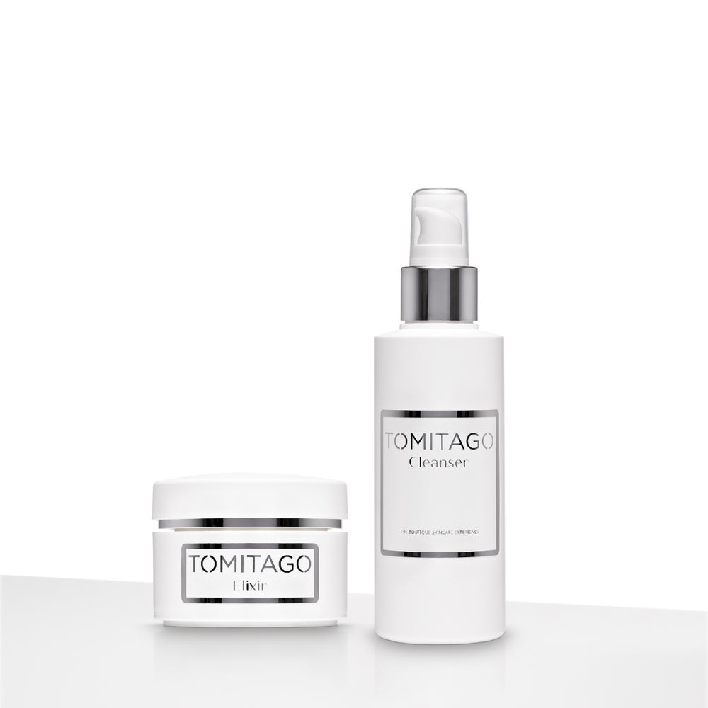 Image of Cleanser (100ml) and Elixir (30ml)