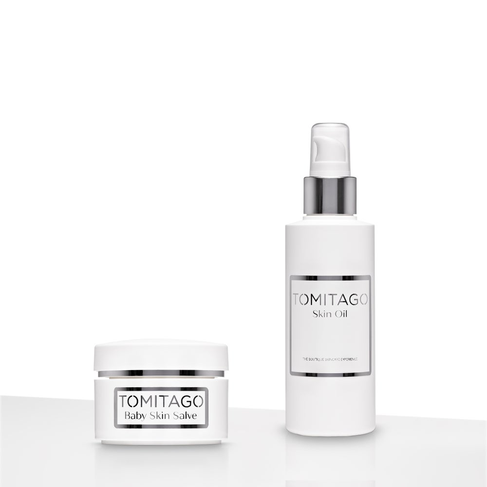 Image of Skin Oil (100ml) and Baby Salve (30ml,suitable from 6 months)