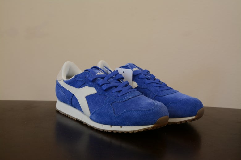 Image of Diadora Trident S II Blue/White
