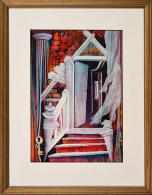 Door Number Three - Framed Print