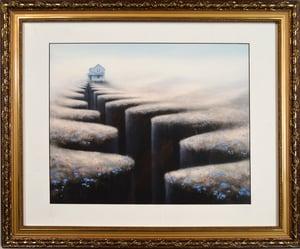 Chasm 2, Framed Print