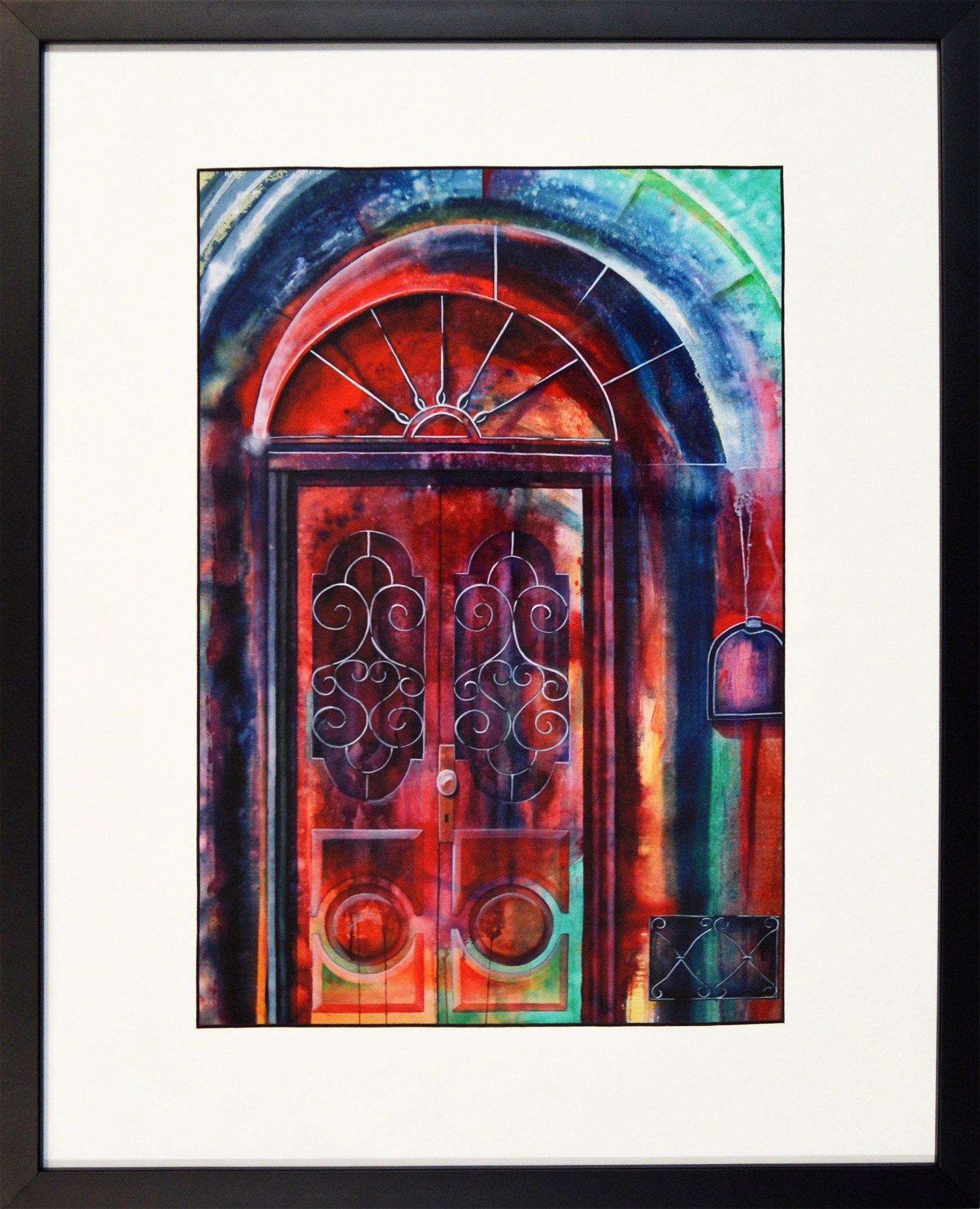 Doors, Framed Print