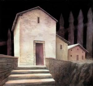 Gretel's House, Framed Print
