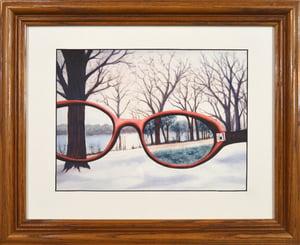 Ideal Glasses, Framed Print