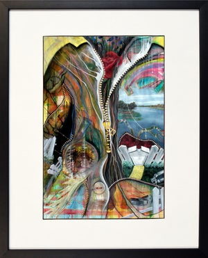 Struggle, Framed Print