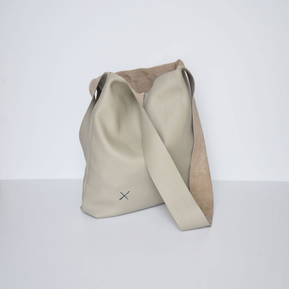 Image of - SALE - Cross Bag Greige