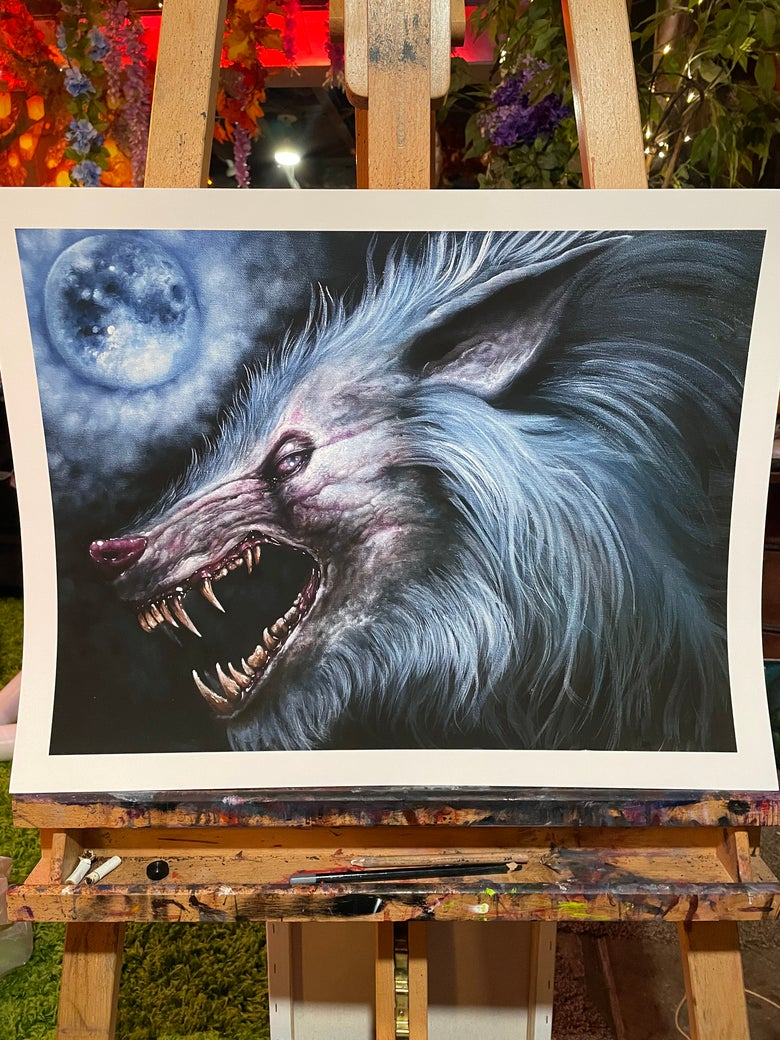 Image of The Wolfman ( Limited Editin Print )