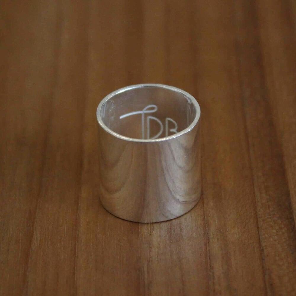 Image of Silver Slide ring