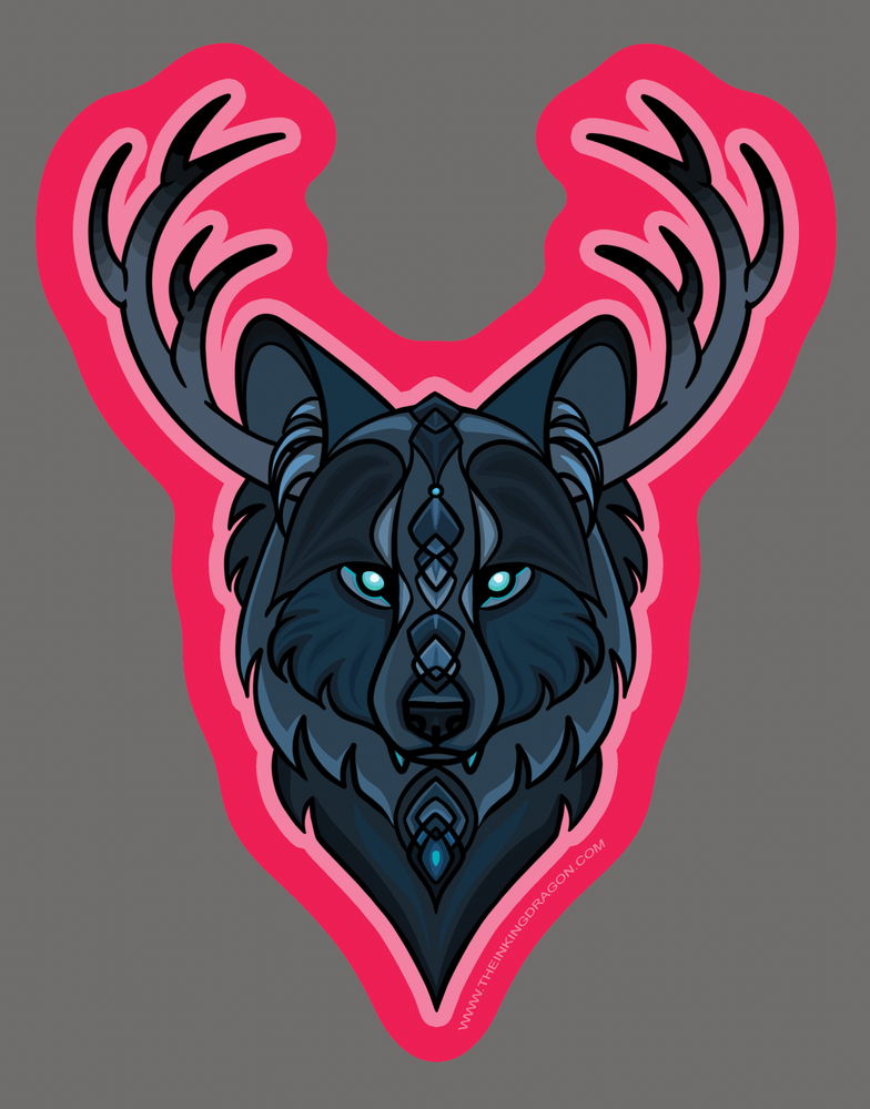 Image of Thorne Wolf - (Two Stickers)