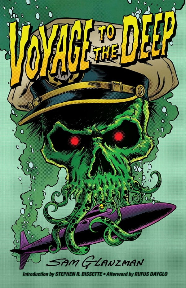 Image of VOYAGE TO THE DEEP signed by Sam Glanzman, Stephen R. Bissette, and Rufus Dayglo