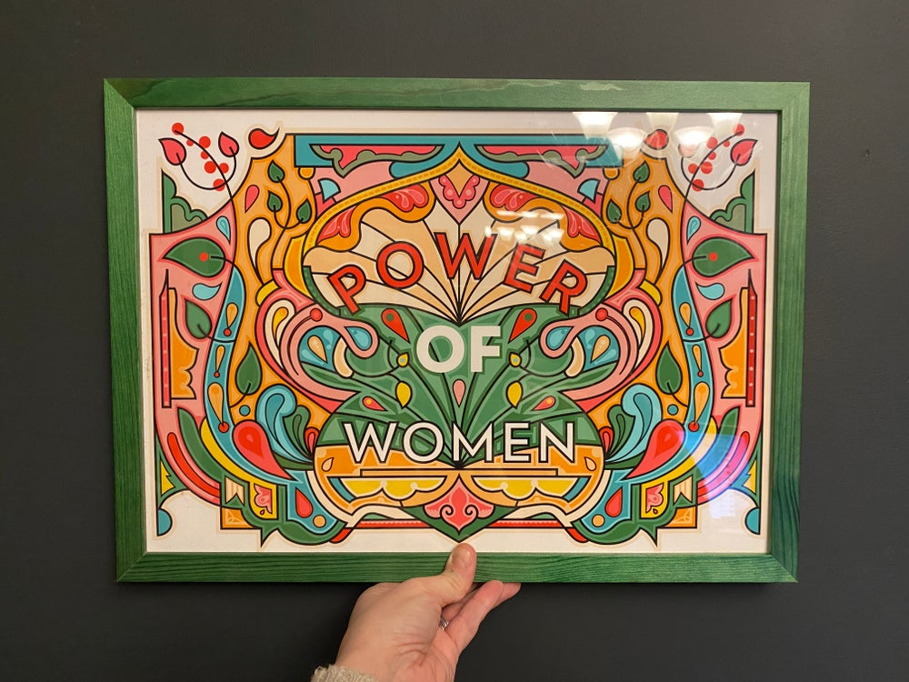Power Of Women - IWD Print for POW! Thanet, 2021 - A3, Archive Print