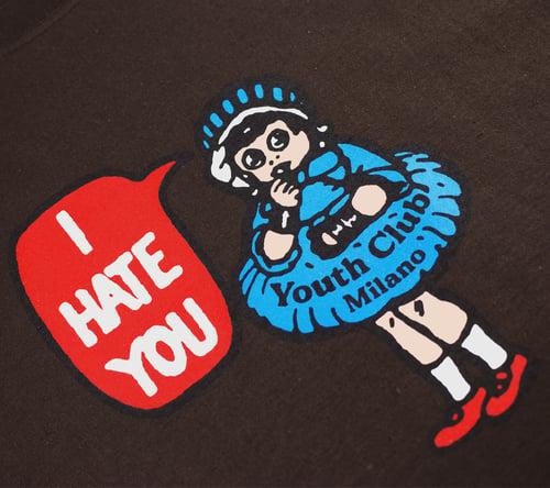 Image of Hate Tee / Chocolate