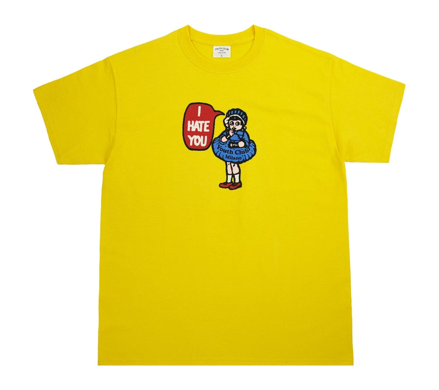 Image of Hate Tee / Yellow