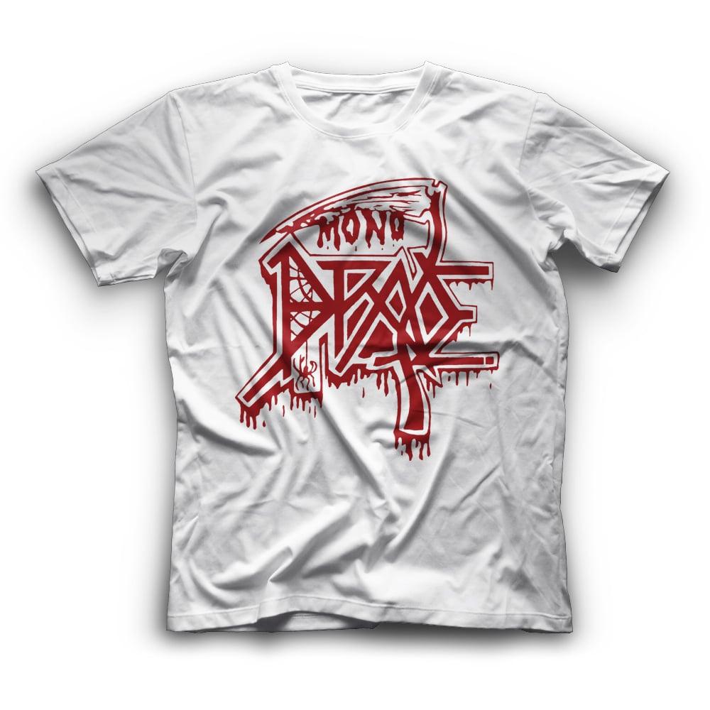 Image of Death Tribute (Λευκό με κόκκινο logo)