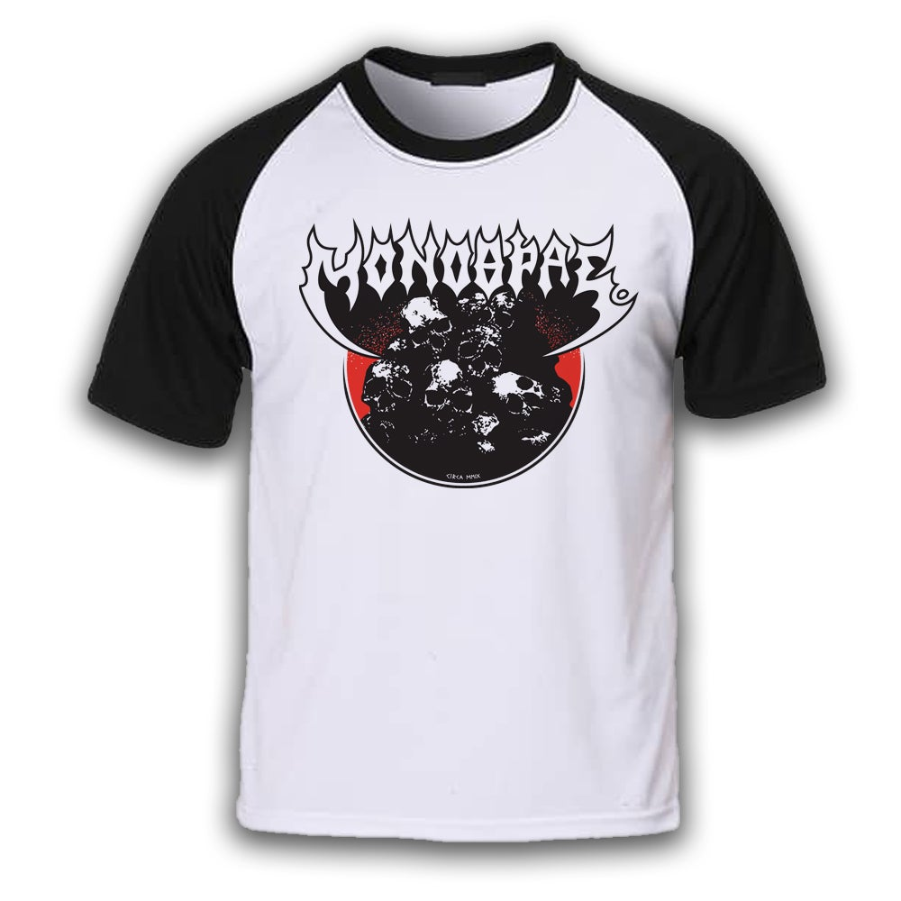 Image of Sepultura Tribute Raglan T-shirt