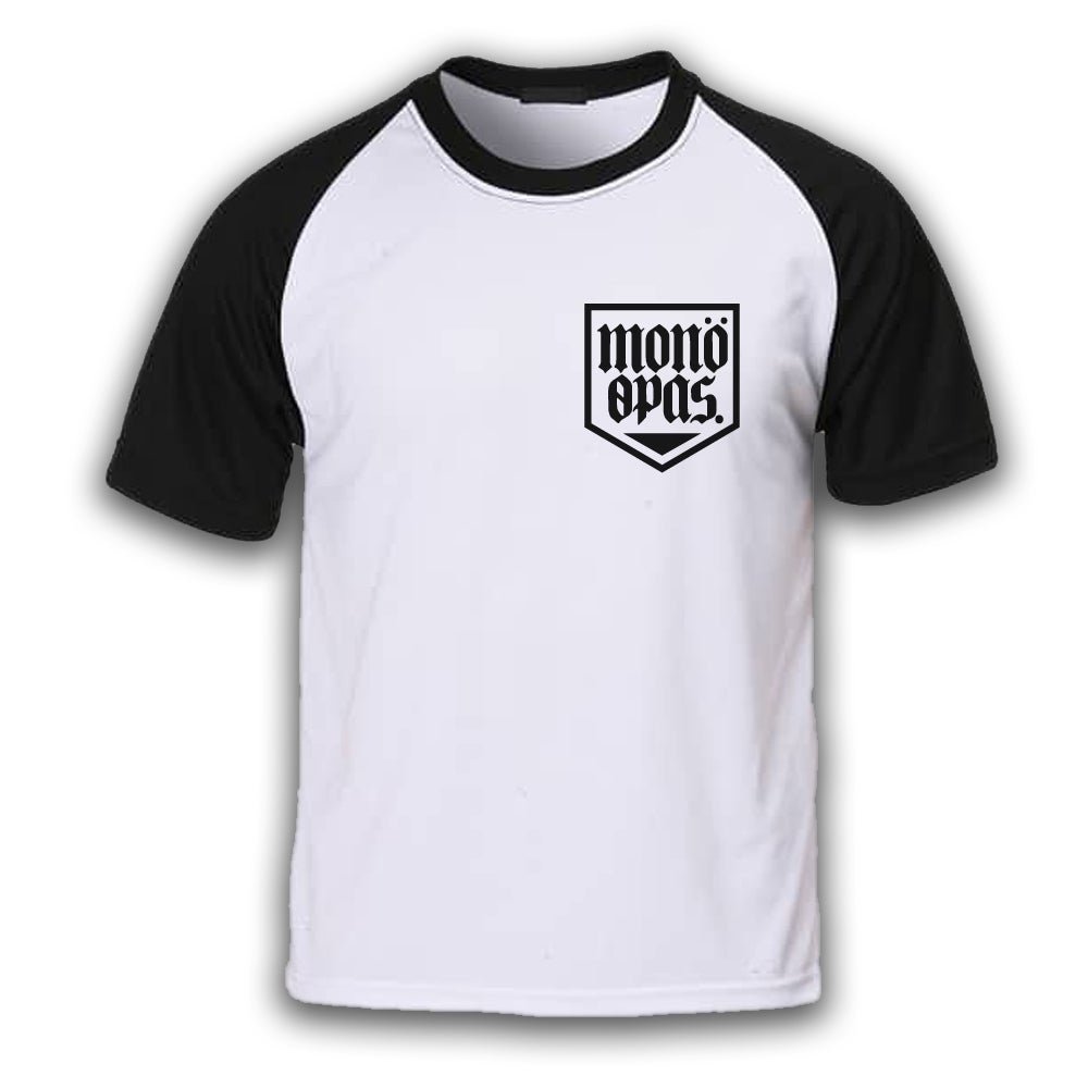 Image of Shield Logo Raglan T-shirt