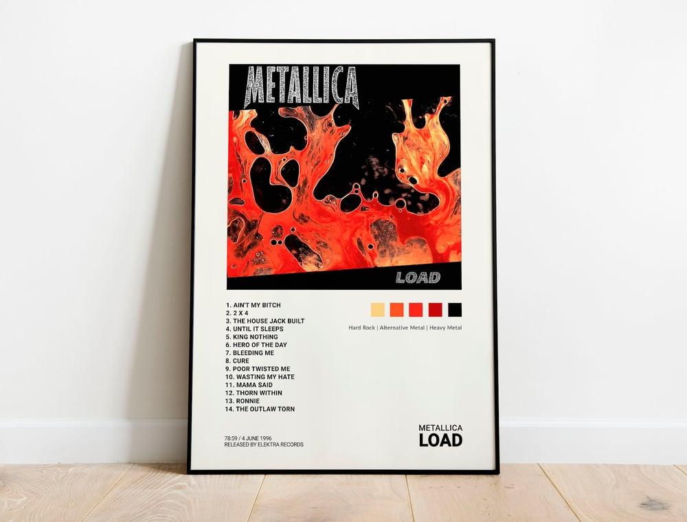 Metallica - Load, Album Cover Poster Print