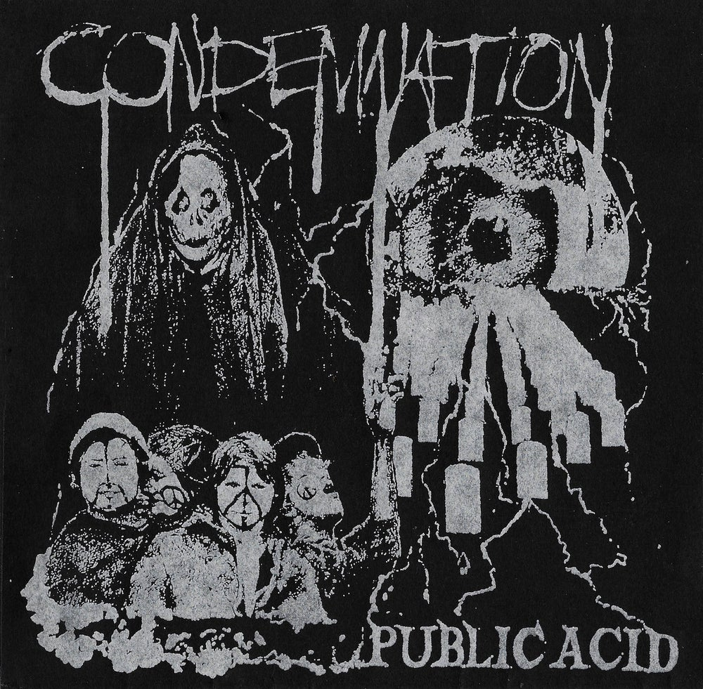 "Image of PUBLIC ACID ""CONDEMNATION"" 7"" E.P."