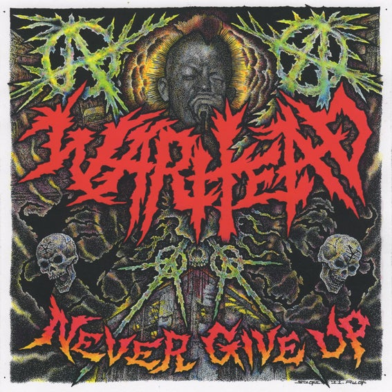 WARHEAD - Never Give Up (discography) / VINYL LP