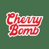 Cherry Bomb Script Sticker