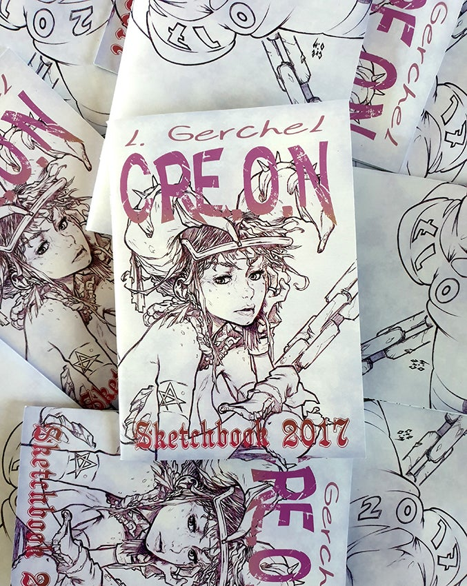 Image of SKETCHBOOK 2017 - RARE! - Limited Run