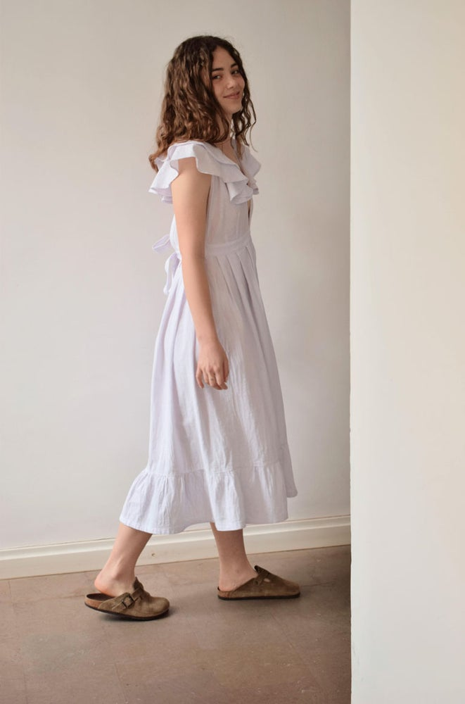Image of EMMA Frilly Cotton Dress