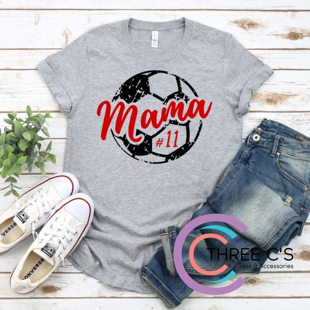 Image of Soccer Mama Tee (Personalized)