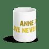 LOVE NEVER DIES Mug White