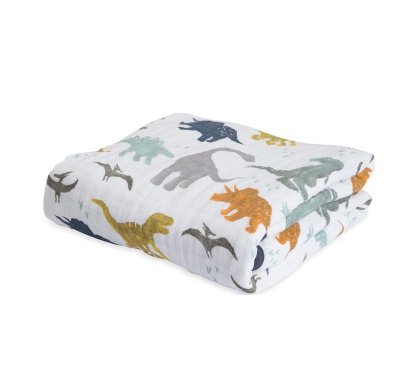Image of Cotton Muslin Baby Blankets
