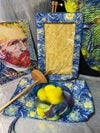 Spinners Bag With Roving: Jenny's Starry Night RTS