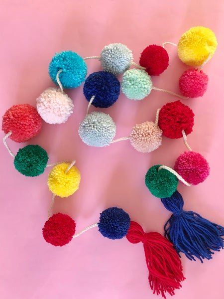 Image of Colourful Party Garland