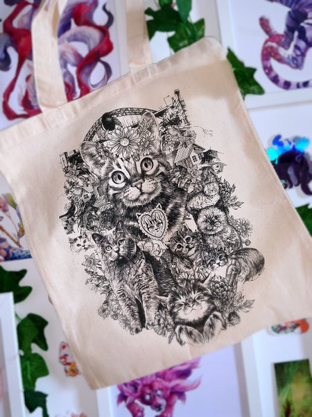 Image of Tyne Cats Tote Bag