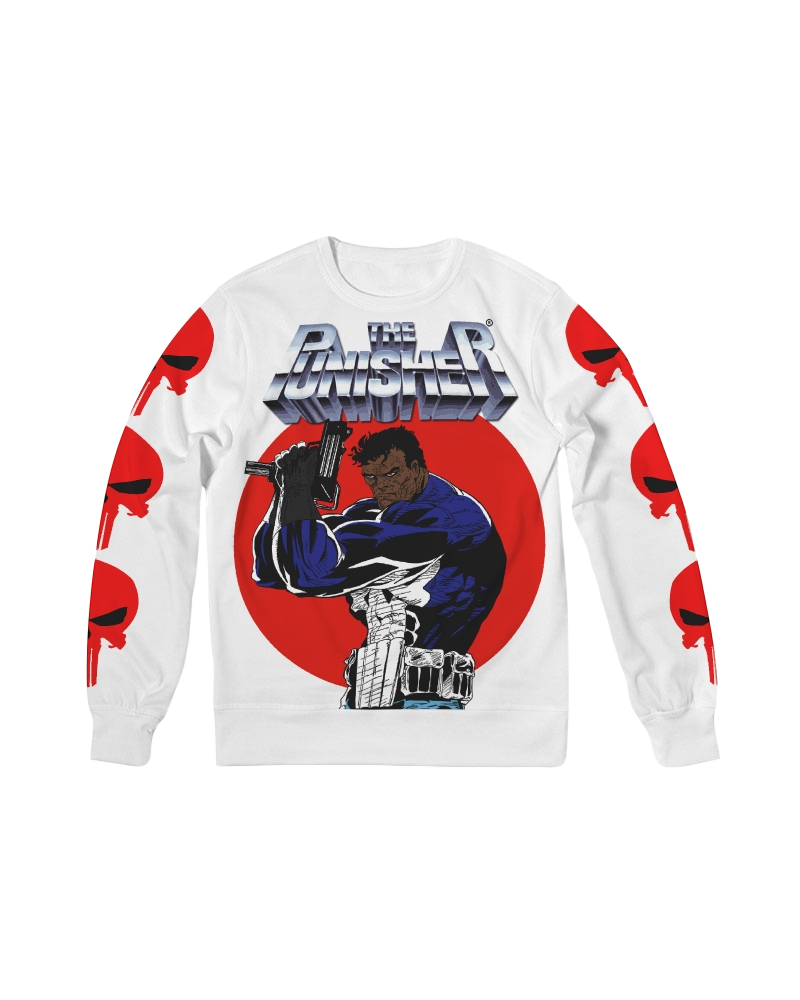 Image of THE BLACK PUNISHER FRENCH TERRY CREWNECK