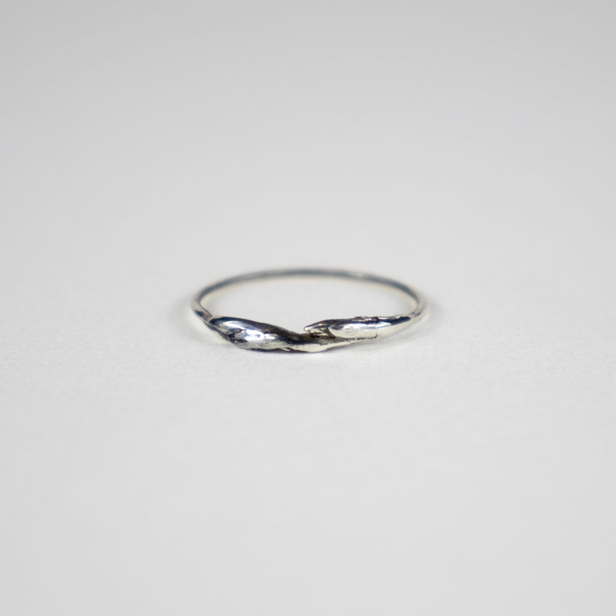 Image of Silver Branch Bud Ring