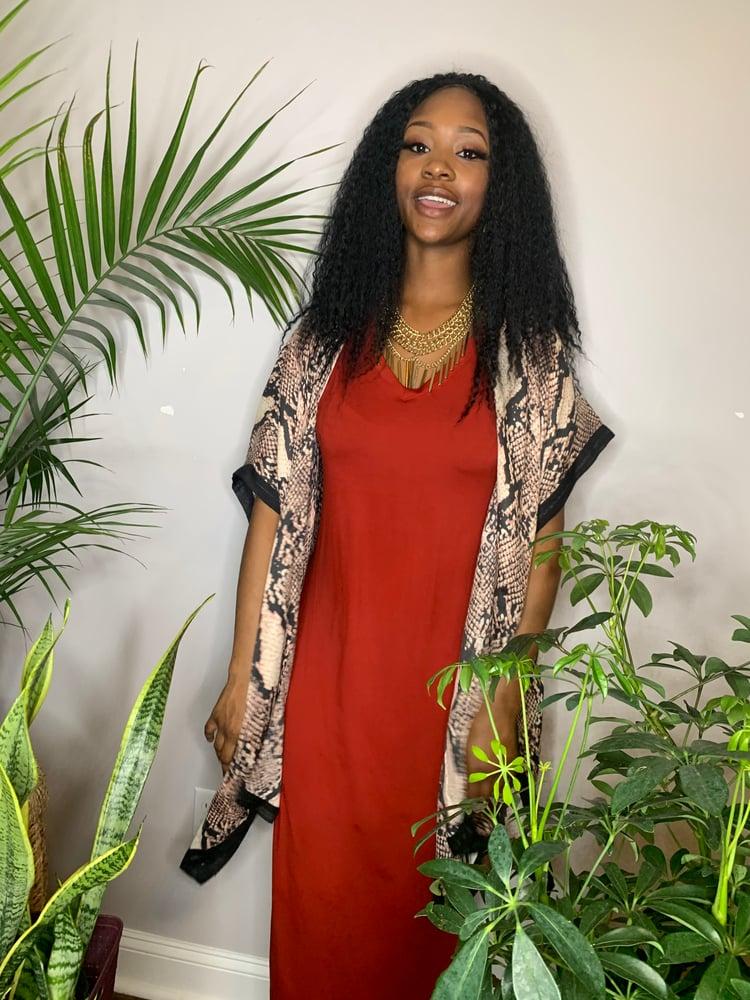 Image of Pretty n cozy dress