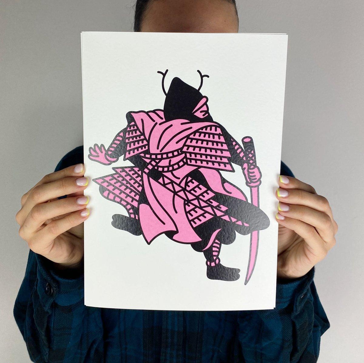 Image of PACK OF PRINTS - SAMURAIS