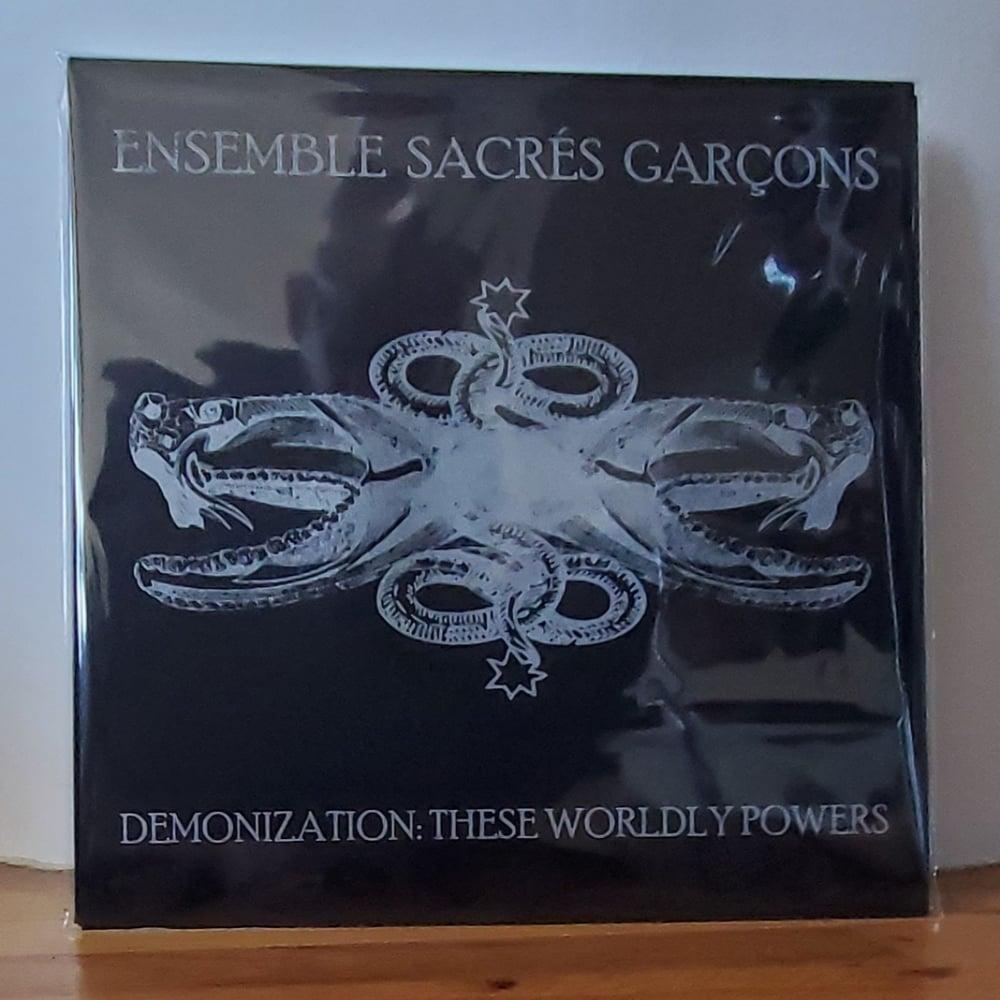 """Ensemble Sacrés Garçons """"Demonization: These Worldly Powers"""" LP"""