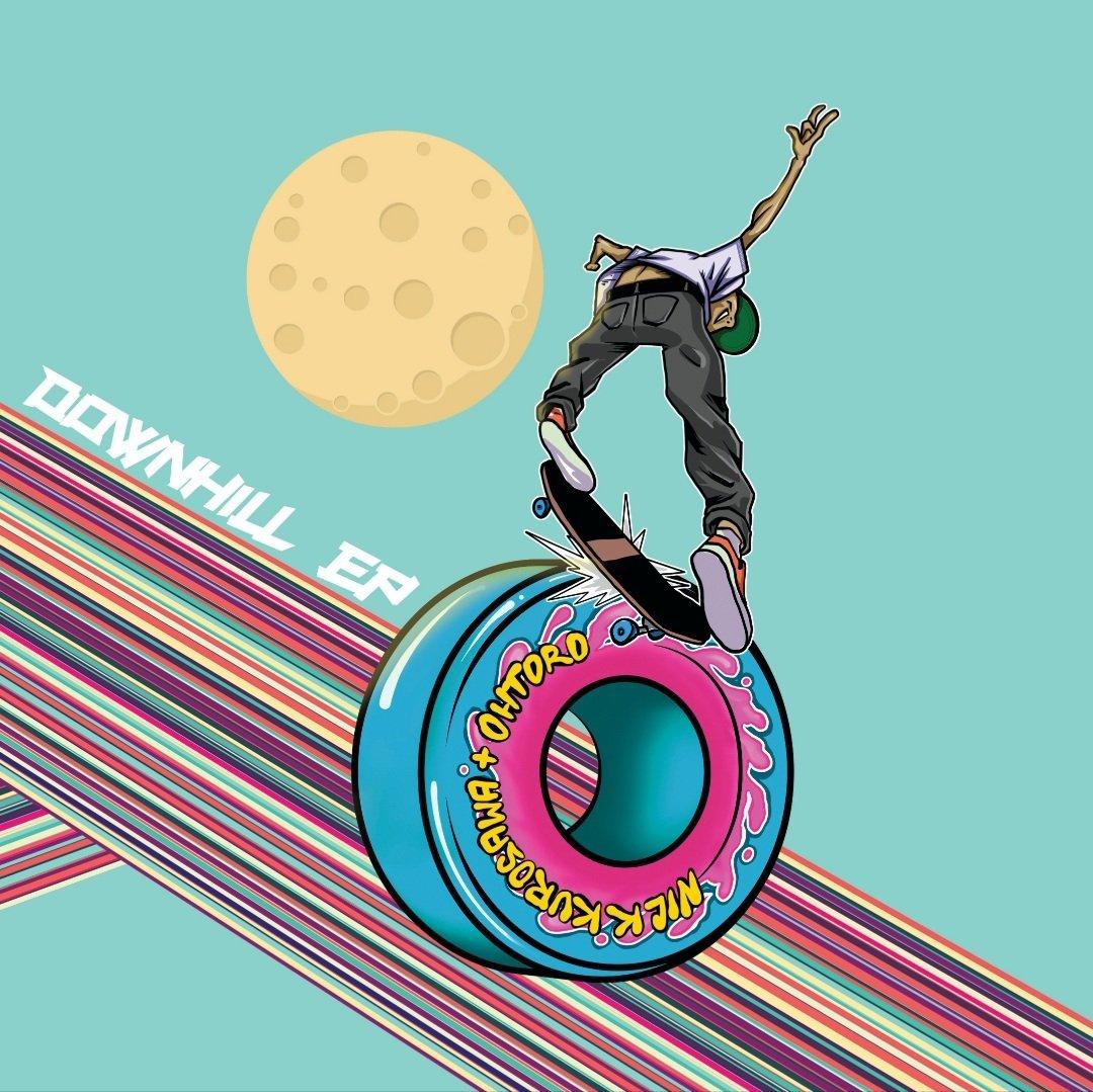 Image of Nick Kurosawa + Ohtoro Downhill EP 7-inch Vinyl
