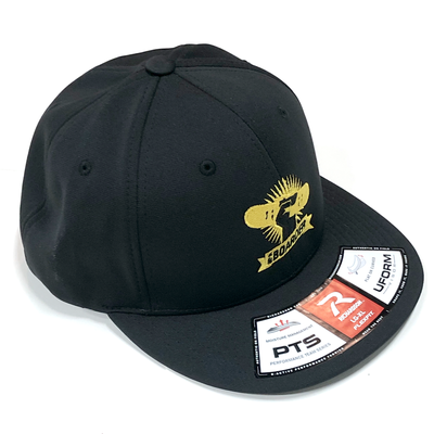 Image of BAB Logo Black/Yellow FlexFit Cap